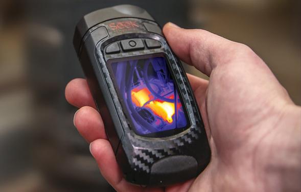 Мобильный тепловизор
