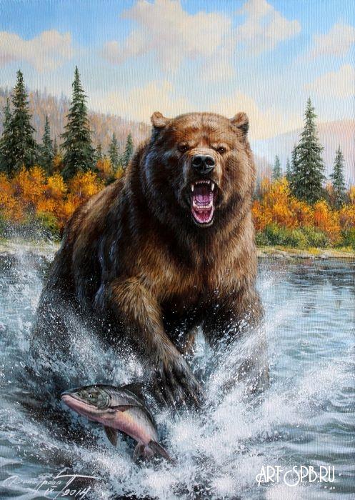 медведь масло картинки где встречаются два