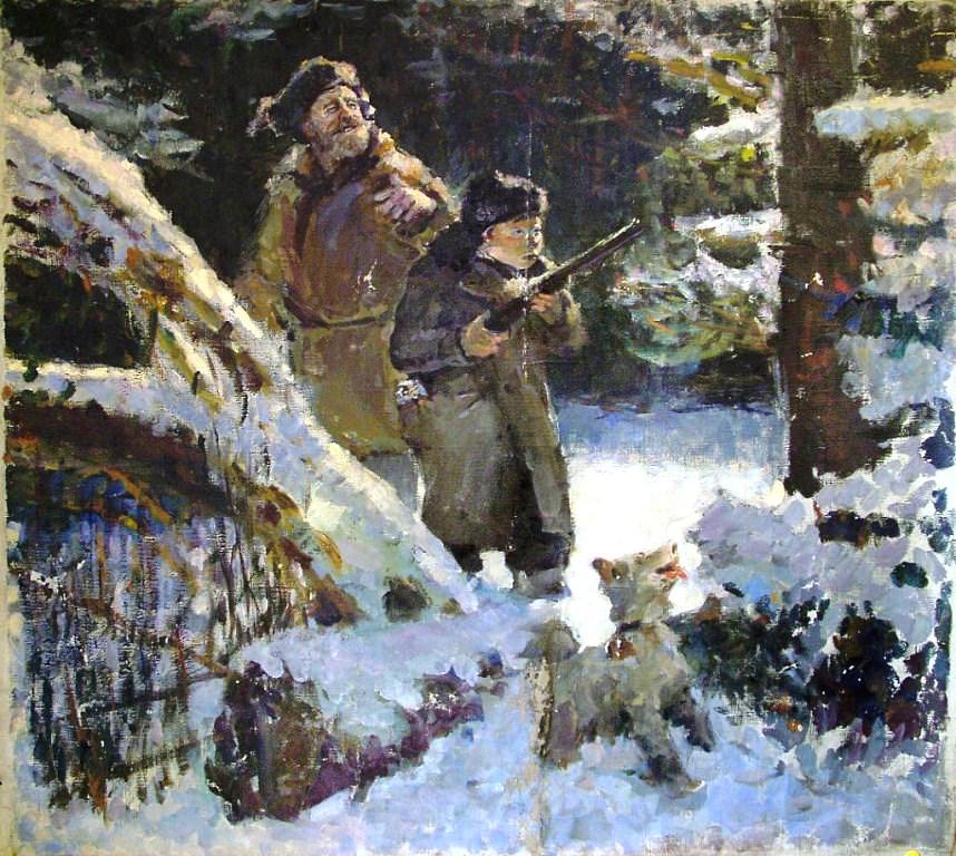 советский охотник картинка джакузи горка для