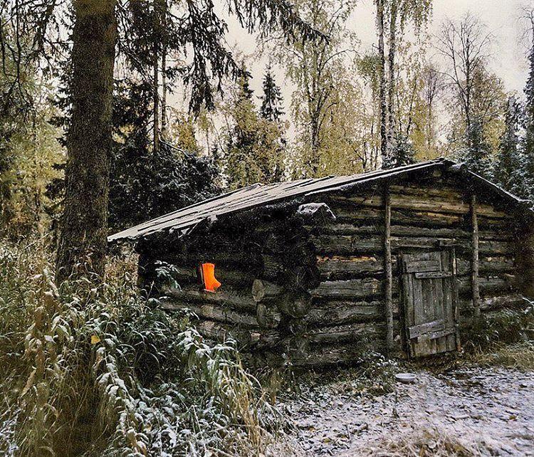 картинки охотничий домик в лесу если дело