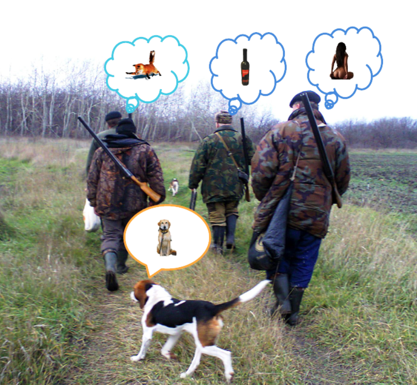 Охотники прикол картинки, днем