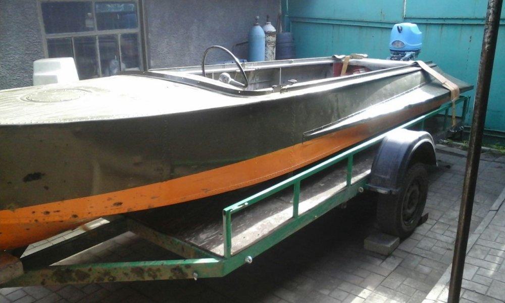 Лодка казанка сделать своими руками 300